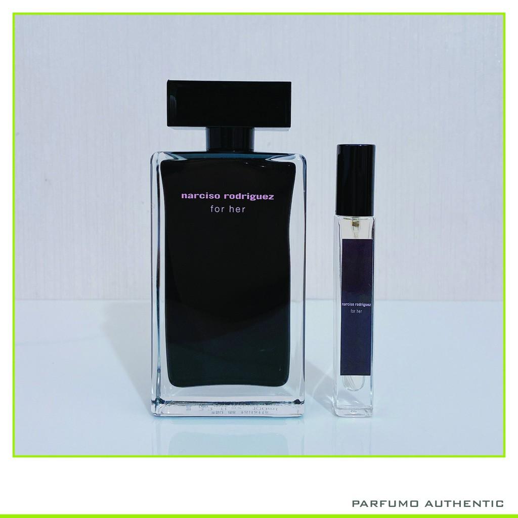 [Cam Kết Chính Hãng] Nước hoa Narciso for her đen cao 2ml 5ml 10ml
