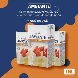 Kem topping ambiante 1L