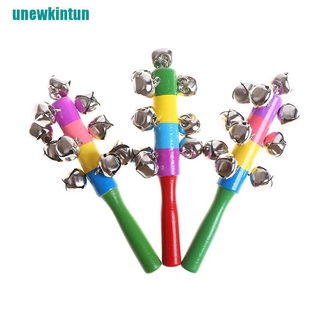 ❤Baby Rattles baby toys Toddler Children Kid Mobile play Colorful Ringing bell