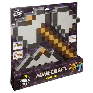 Minecraft multi tool 3 in 1 – Bộ công cụ 3 trong 1 chính hãng
