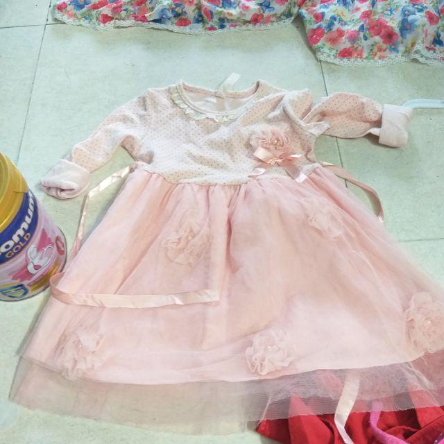 Đầm bé gái.