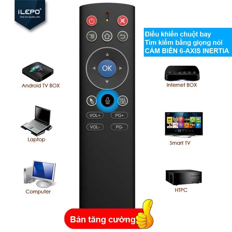 Remote chuột bay đìều khiển giọng nói dành cho Android box, bảo hành 1 năm 1 đổi 1 ILEPO