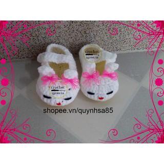 Giày len cho bé M239 – baby shoes /sandals crochet