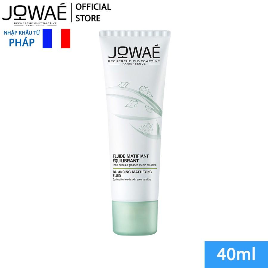 Kem cấp ẩm kiềm dầu JOWAE cân bằng da mỹ phẩm thiên nhiên nhập khẩu chính hãng từ Pháp