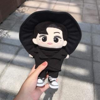 [outfit Doll Kpop] Set áo cổ lọ – gile đen