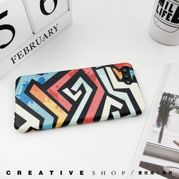 [pretect it]Dazzle colour eight graffiti millet/millet cc9e red rice note7 note5/9 / millet plus following from 5
