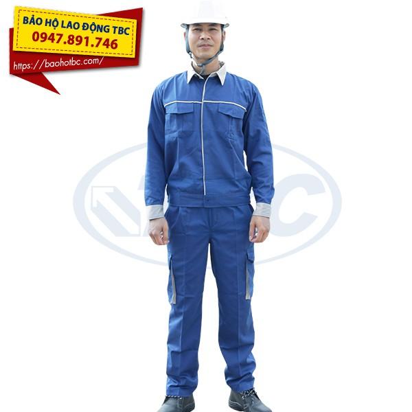 Quần áo bảo hộ QA01 Kaki Liên Doanh