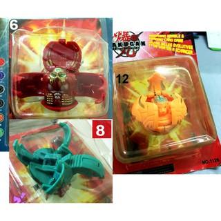 Bộ 3 cái đồ chơi bakugan, khách tùy chọn 3 mẫu bất kỳ. bakugan3