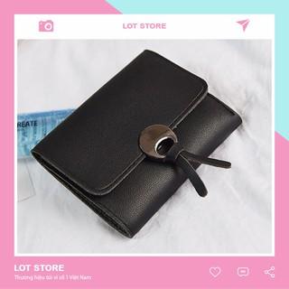 Ví nữ đẹp cầm tay mini cao cấp nhỏ gọn bỏ túi giá rẻ LOT STORE VD88 thumbnail