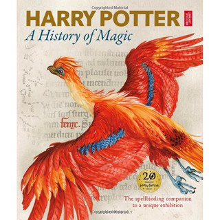 Sách Ngoại văn HARRY POTTER - A HISTORY OF MAGIC THE BOOK OF THE EXHIBITION thumbnail