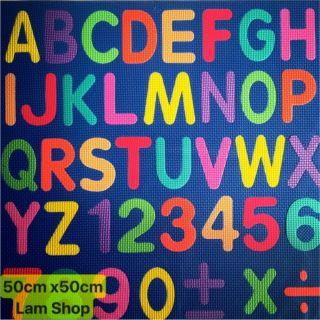 🇻🇳Bảng chữ cái 🔠số 🔢 cho bé 50cm x 50cm