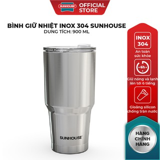 Bình giữ nhiệt Inox 304 Sunhouse 900ml KS-TU900I thumbnail