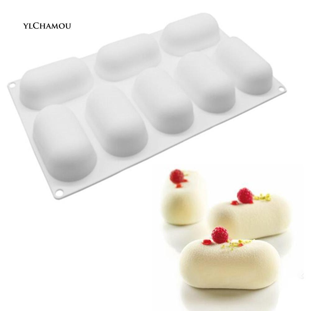 Khuôn làm bánh pudding chất liệu silicone