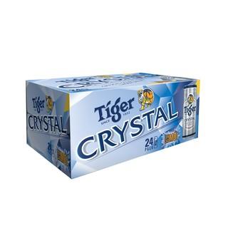 """[Mã GRO1HNK27 giảm 8% đơn 250K] Thùng 24 lon Tiger Crystal sleek (330ml/lon) giá chỉ còn <strong class=""""price"""">35.500.000.000đ</strong>"""