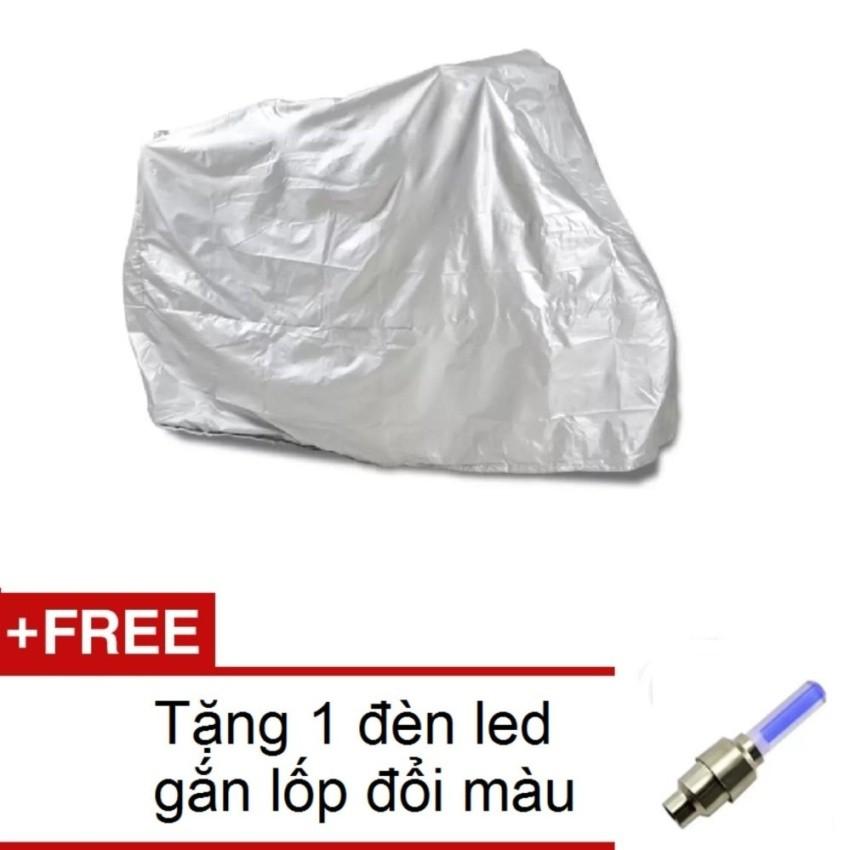 Bạt phủ xe máy 230cm x 130cm HQ206136-2A (Bạc) + Tặng 1 đèn led gắn lốp đổi màu 206131 - 3057468 , 567620511 , 322_567620511 , 130000 , Bat-phu-xe-may-230cm-x-130cm-HQ206136-2A-Bac-Tang-1-den-led-gan-lop-doi-mau-206131-322_567620511 , shopee.vn , Bạt phủ xe máy 230cm x 130cm HQ206136-2A (Bạc) + Tặng 1 đèn led gắn lốp đổi màu 206131