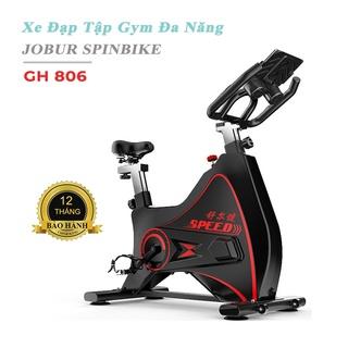 Xe đạp đa năng JOBUR GH806 [BH 12 THÁNG] hiện đại sang trọng, vận hàng êm ái kết nối bluetooths. thumbnail