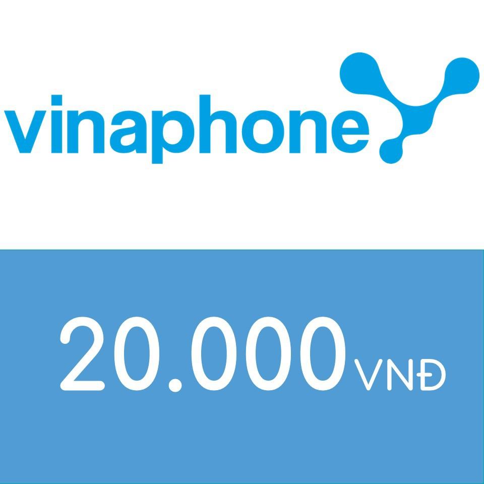Mã thẻ điện thoại Vinaphone 20K