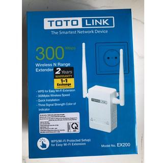 Totolink EX200 – Bộ mở rộng sóng wifi chuẩn N – hàng chính hãng