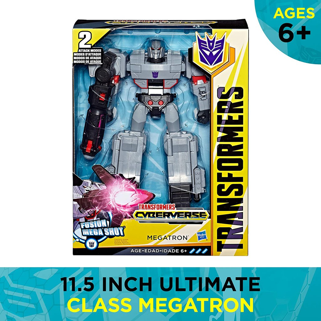 Robot Biến Hình Transformers Toys Cyberverse Action Attackers Ultimate Class Megatron Action Figure