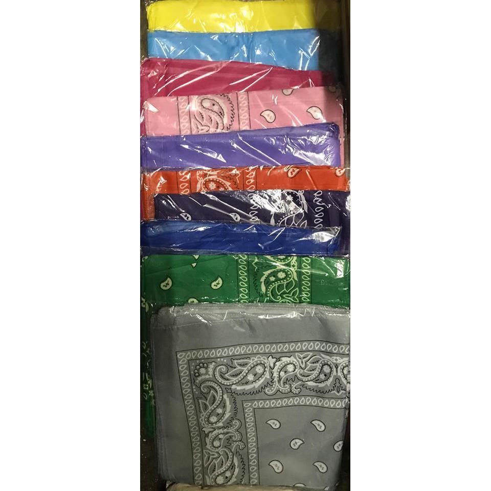 (14 màu) Khăn turban bts khăn bandana bts khăn cổ bts exo