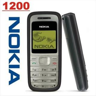 Điện thoại nokia 1200 - chính hãng cũ 99% ( BH 06T ) giao màu ngẫu nhiên