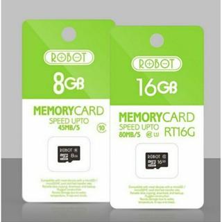 Thẻ Nhớ Robot 8 Gb Cl10