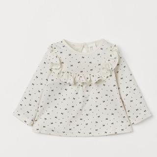 Áo cotton HM bé gái_ Authentic UK
