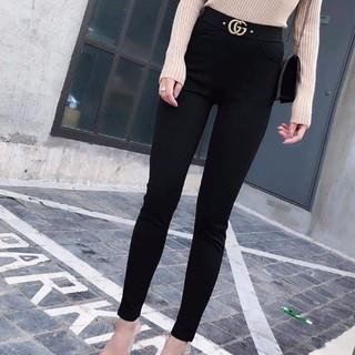 LEGING CAO CẤP-Quần Leging nữ đẹp kèm tag_Quần leging cạp cao gen bụng