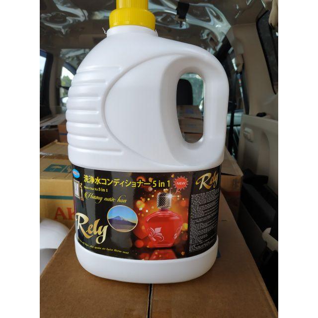 Nước giặt xả Rely 5in1 hương nước hoa
