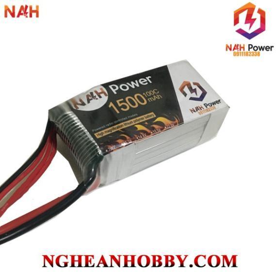 Pin Lipo 3S 11.1v 1500mAh 100C