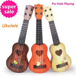 Kids Musical Toy Instrument Four Strings Ukulele Mini Guitar Kids Education Gift