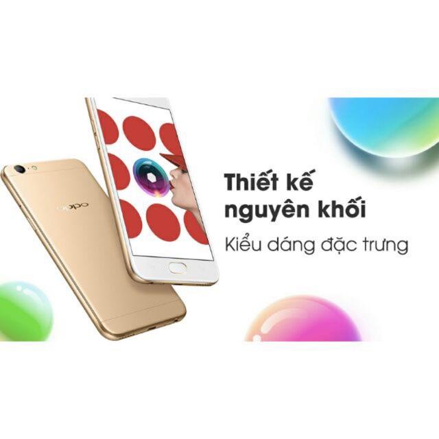 Điện thoại Oppo F3 Lite (A57) - Ram 3Gb/32Gb - 2 sim - Fullbox new - Hàng nhập khẩu