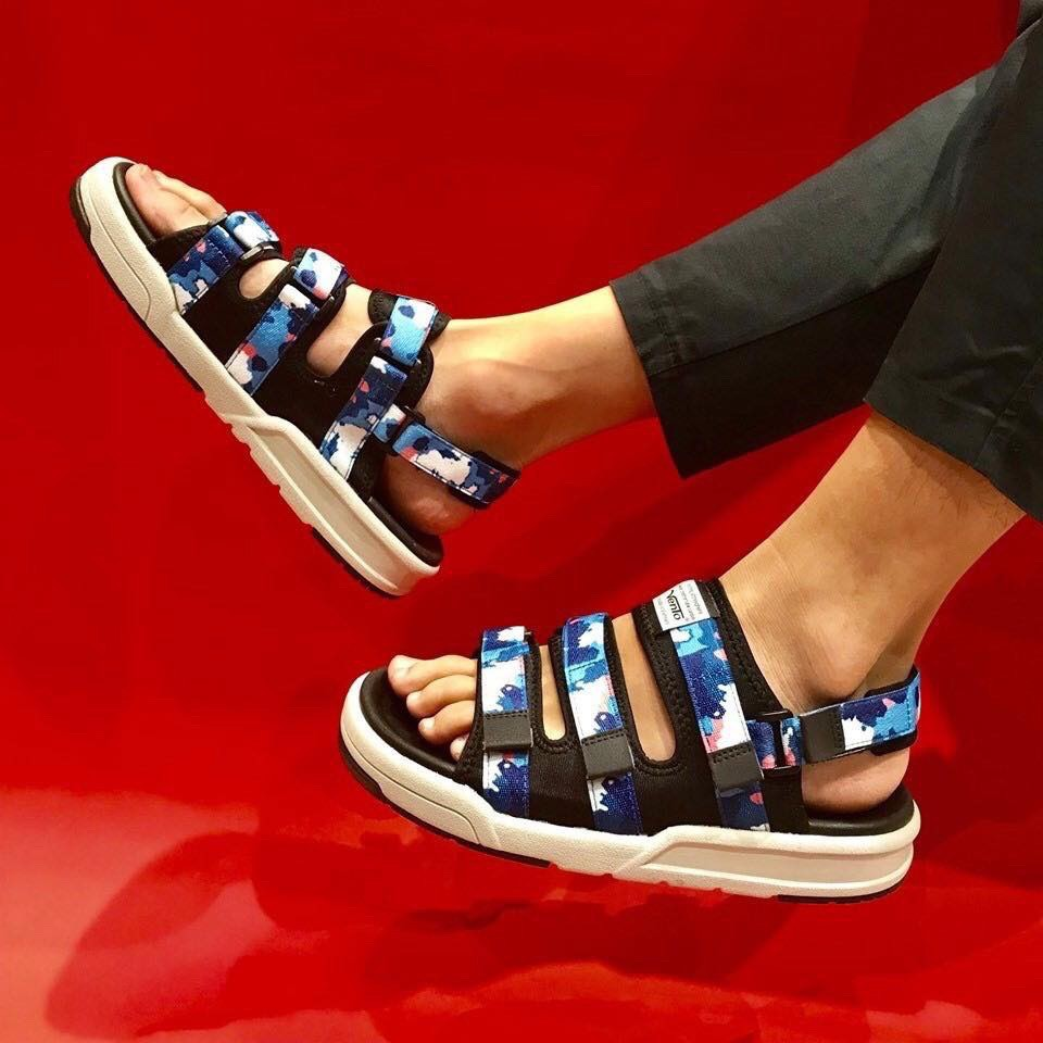 Giày VENTO sandal SD-1001 CAMO BLUE