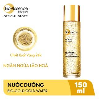 Nước dưỡng ngăn ngừa lão hóa Bio-Essence Bio-Gold Bio-Essence Gold chiết xuất vàng 24k 150ml