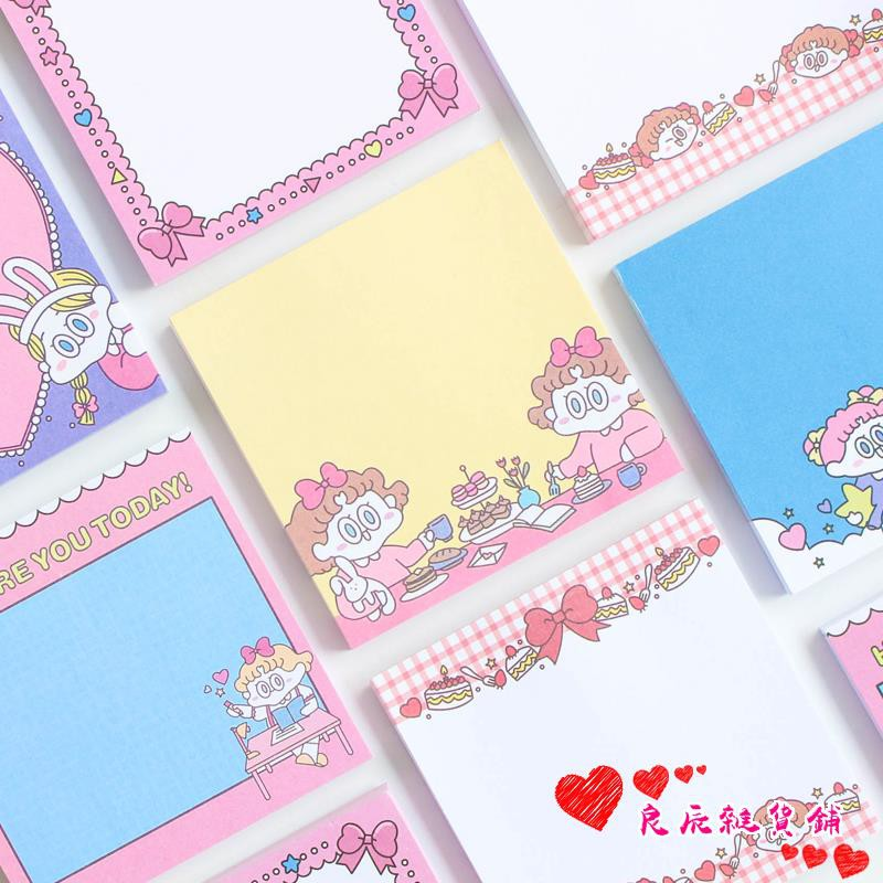 ★Hot merchandise★Cartoon cute small fresh post sticker Office