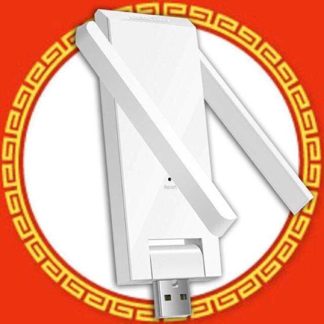 Kích sóng WiFi 300M 2 Râu Mercury MW302RE Siêu Khoẻ - Hàng Chính Hãng [Mua 2 chiếc FREE SHIP]