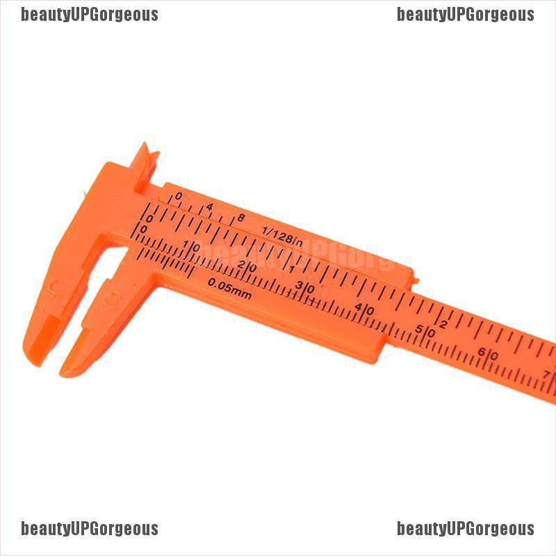 1 Thước Đo Lường Bằng Nhựa Mini 80mm