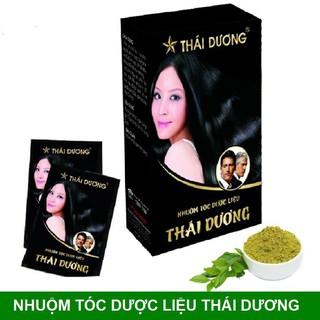 Nhuộm tóc dược liệu Thái Dương - chính hãng