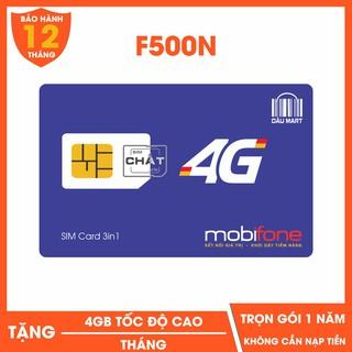 [CHỈ BÁN HÀ NỘI] SIM 4G Mobifone F500N / MDT250A Dùng 4G Trọn Gói 1 Năm Không Cần Nạp Tiền