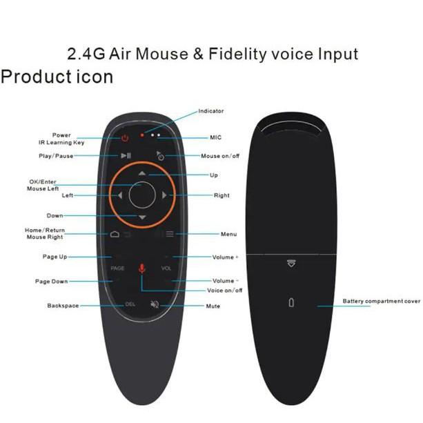 Chuột bay G10S | Remote điều khiển giọng nói , Voice sreach cao cấp | Có học lệnh | có chuột bay .