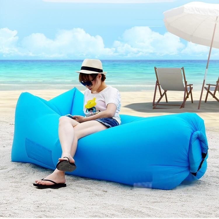 Ghế lười khí, sofa khí chống nước, mềm mại, dễ vận chuyển, để phòng khách, mang đi biển - POPO S