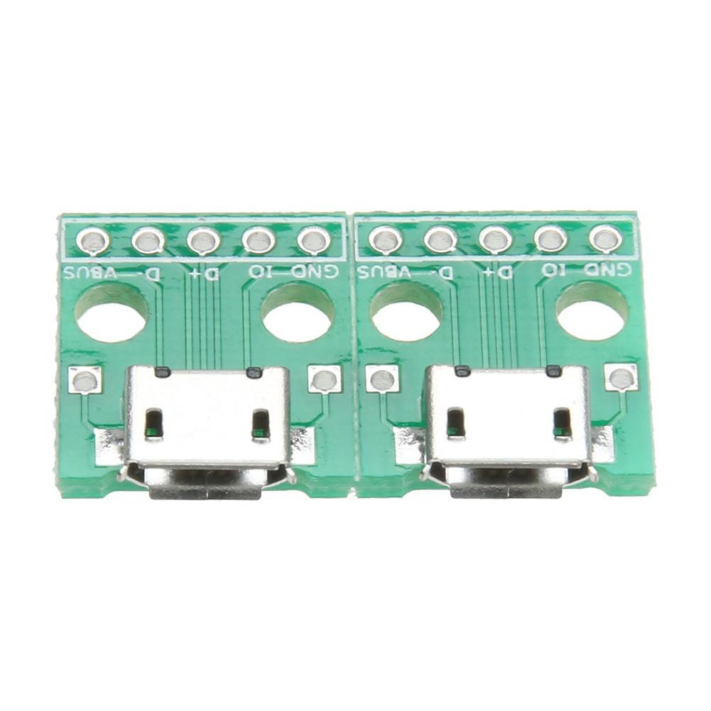 Set 10 đầu nối chuyển đổi cổng Micro USB sang DIP 5Pin