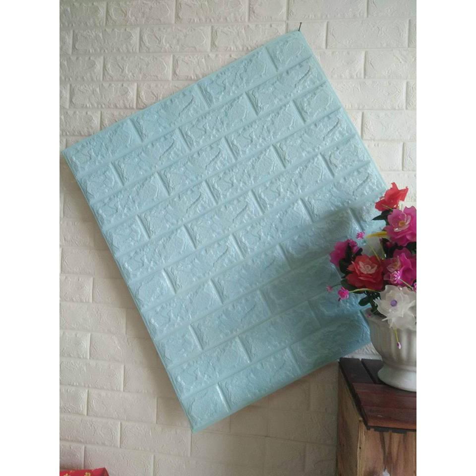 Xốp dán tường 3d giả gạch màu xanh ngọc - 3488359 , 841566662 , 322_841566662 , 35899 , Xop-dan-tuong-3d-gia-gach-mau-xanh-ngoc-322_841566662 , shopee.vn , Xốp dán tường 3d giả gạch màu xanh ngọc