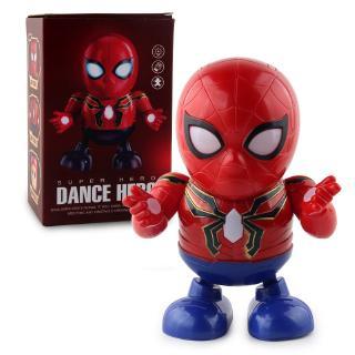 đồ chơi người nhện nhảy múa phát nhạc
