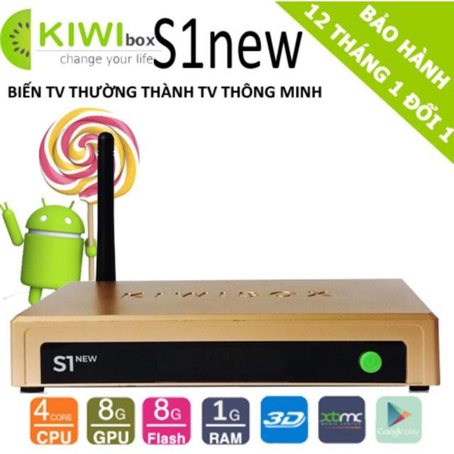 KIWIBOX S1 NEW