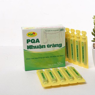 PQA Nhuận Tràng Ống – Táo Bón Lâu Ngày, dạng ống tiện lợi