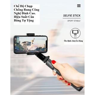 [Bảo Hành 1 Đổi 1] Tay Cầm Chống Rung Điện Tử Gimbal L08 Có Bluetooth -Có Chân Đỡ Tự Đứng – Kéo Dài Tới 86cm