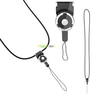 Mobile phone Straps lanyard rotating long neck hanging detachable strap