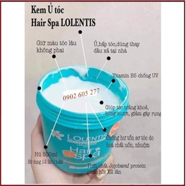 [Hàng chính hãng] Ủ ṫóc siêu mềm mượt Lolentis Hair Spa Leelawadee Nano Thái Lan