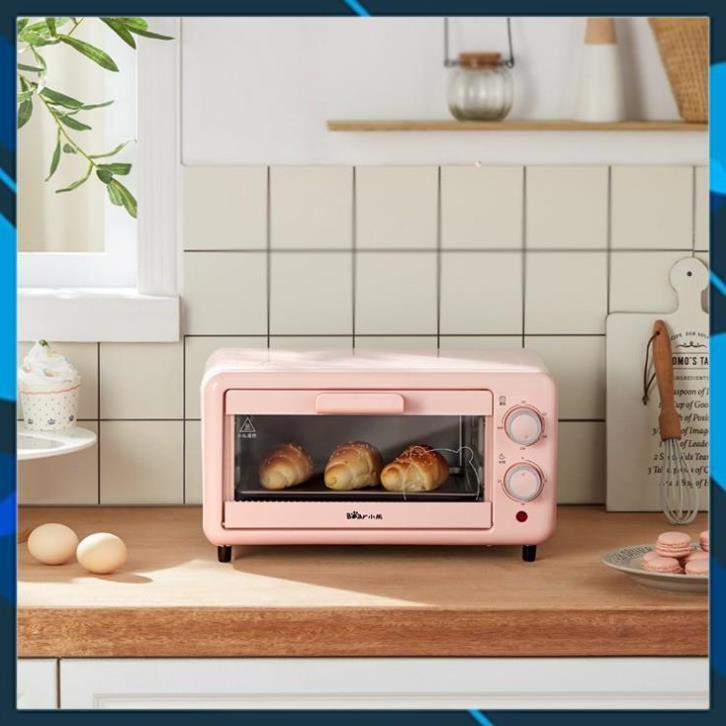 Lò nướng Bear DKX-D11B1, dung tích 11 lít, sử dụng để nướng bán và các loại thực phẩm
